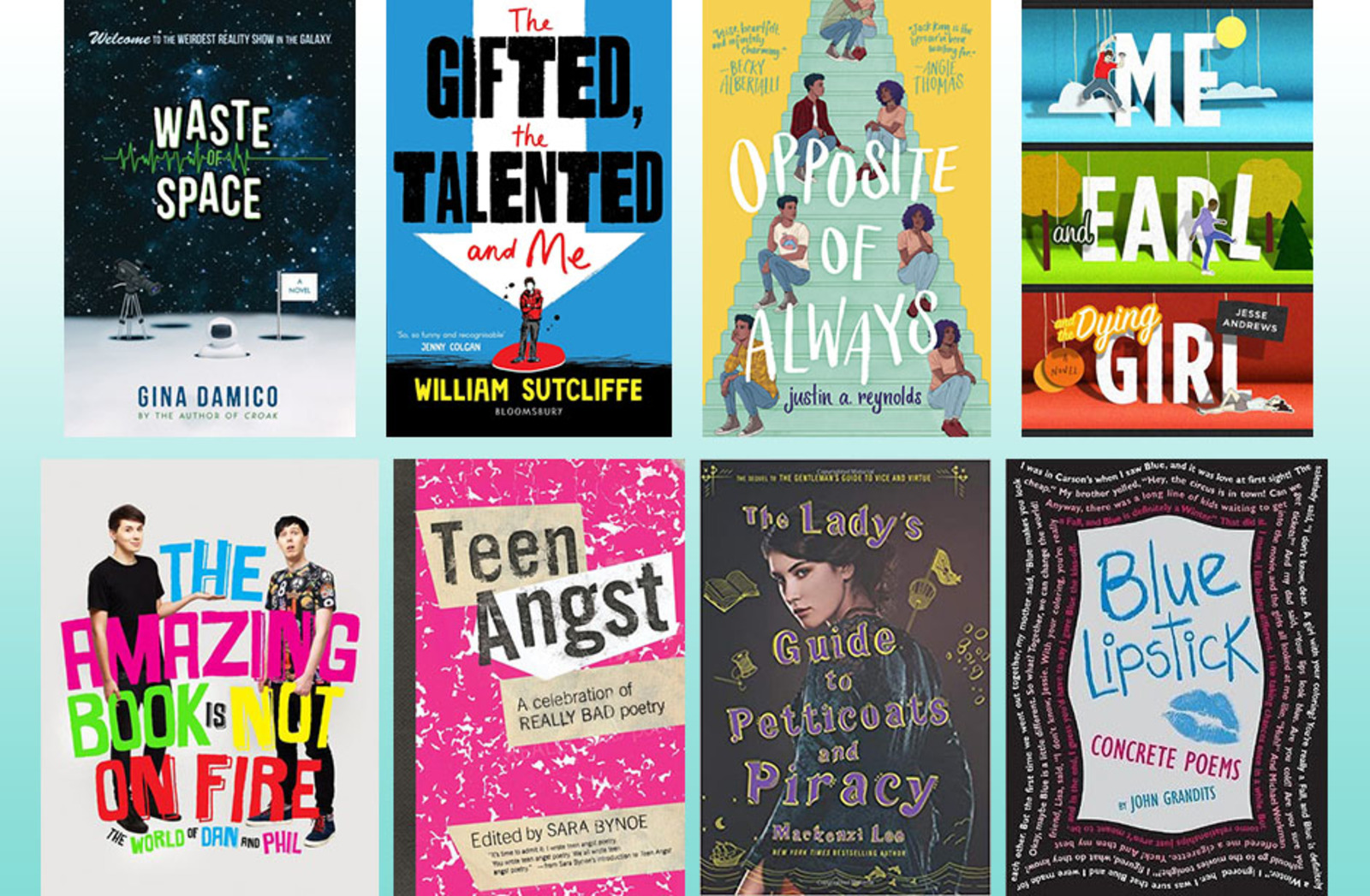 May book list jackets
