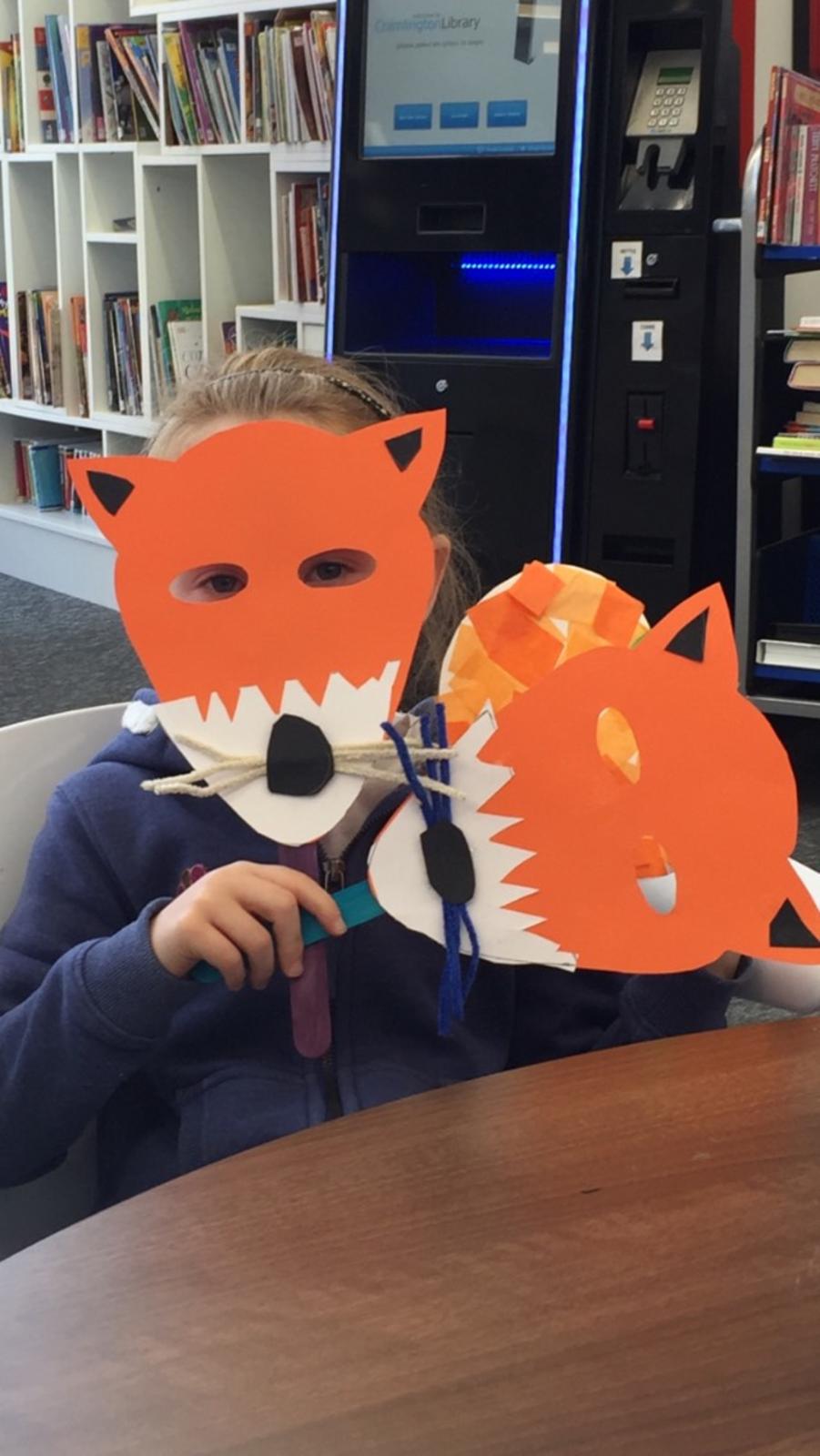 Izzy fox mask