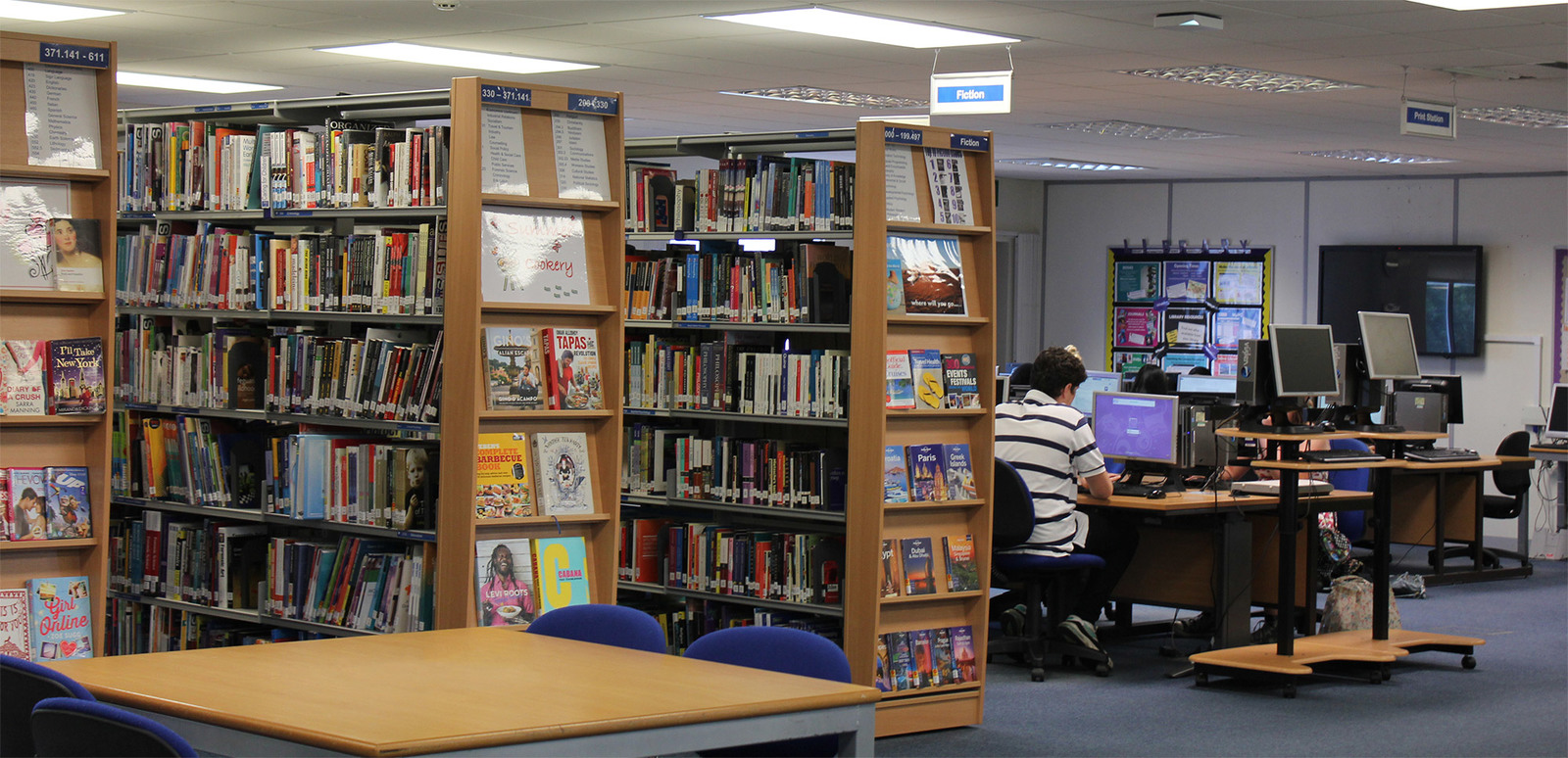 Library image for reading hack account