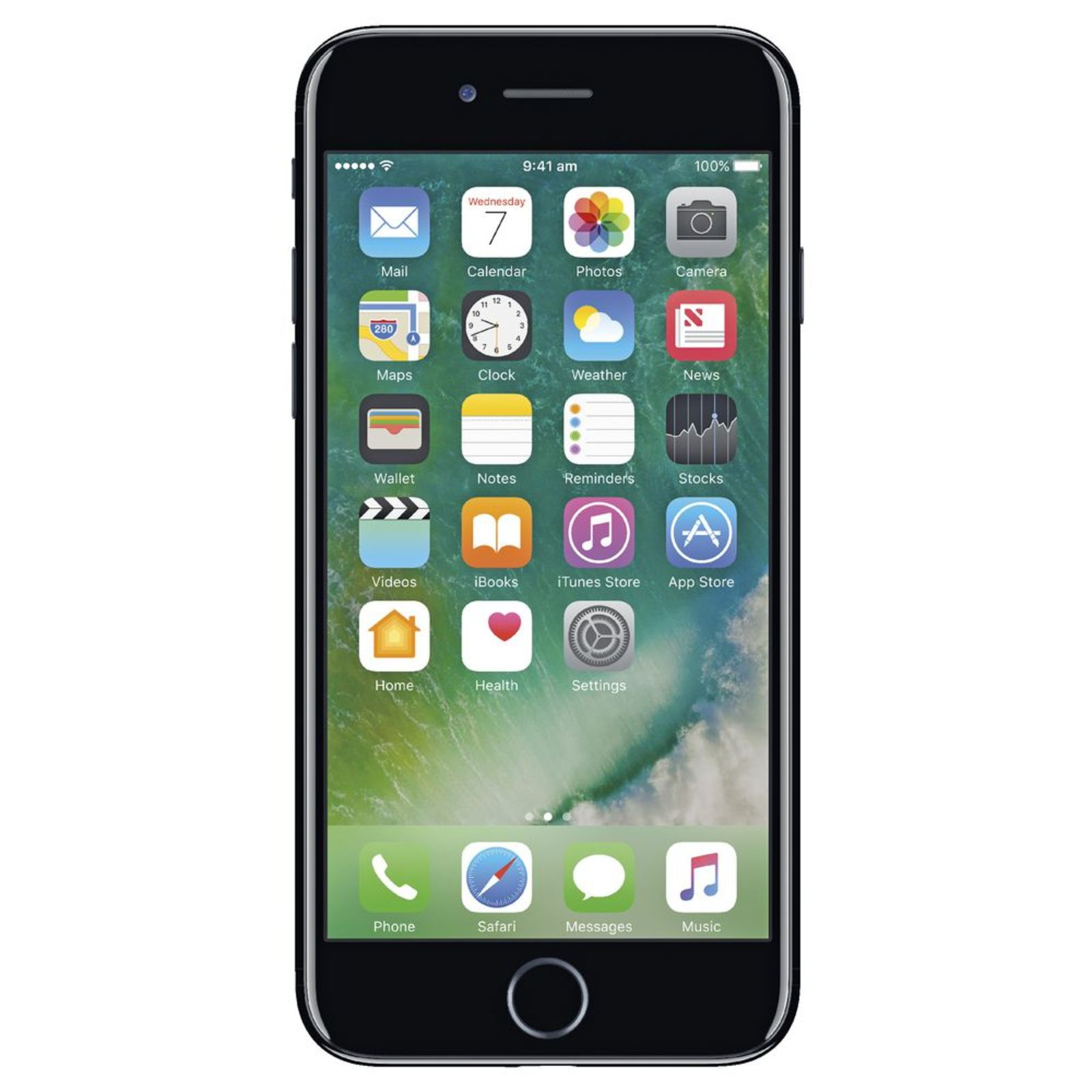 Ip7128bl iphone 7 128gb jet black